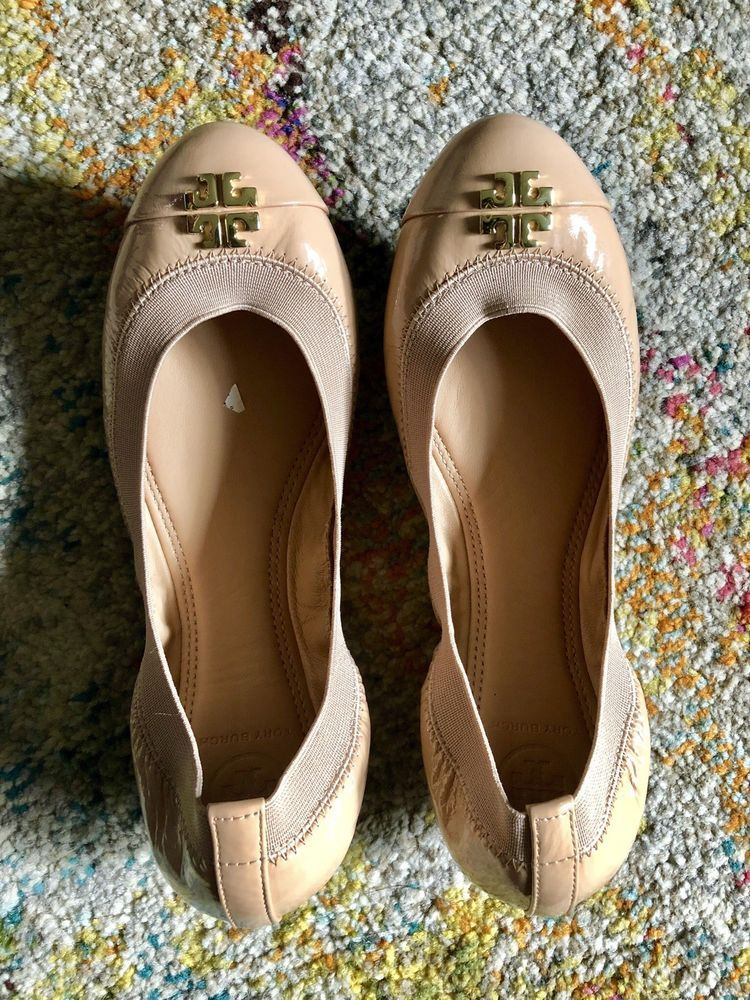 6a64f77a0bc Tory Burch Jolie Ballet Flat Size 6.5 Nude Light Oak New (Retail  225)   fashion  clothing  shoes  accessories  womensshoes  flats (ebay link)