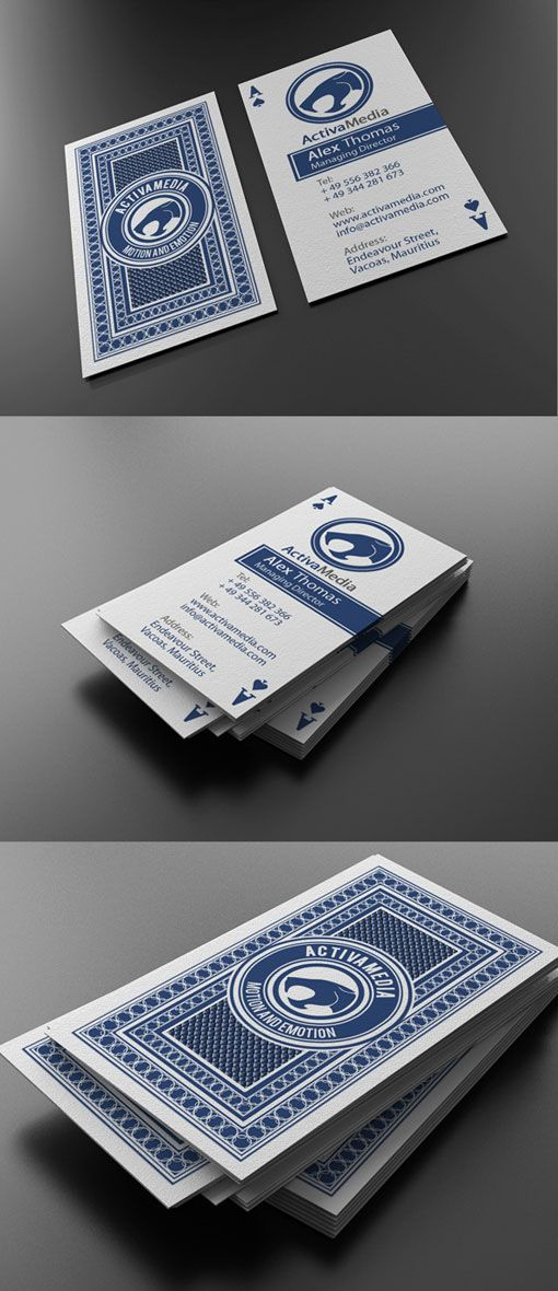 35 Creative and Most Beautiful Business Card Design examples ...