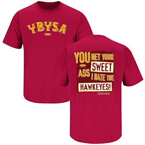 Iowa State Cyclones Fans Ybysa Anti Iowa T Shirt With Images