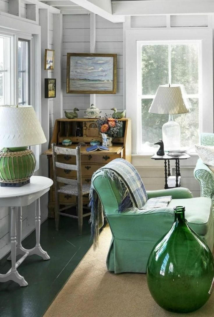 43 Cozy Decorations For Cottage House Interiors Beach