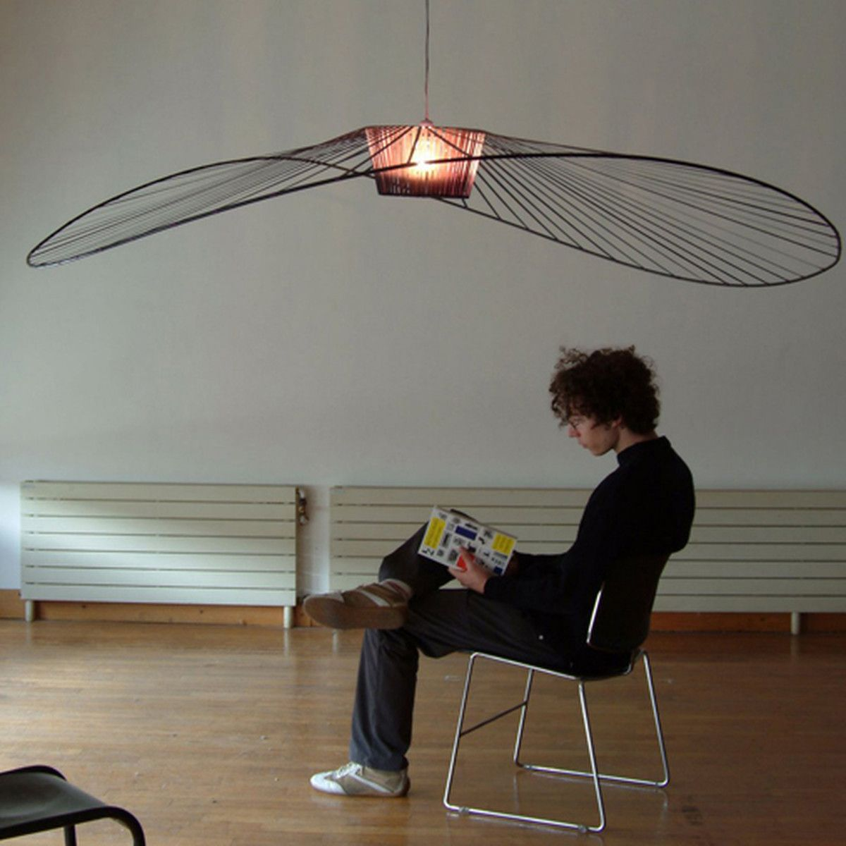 Petite Friture - Vertigo Pendant Lamp, small, white ...