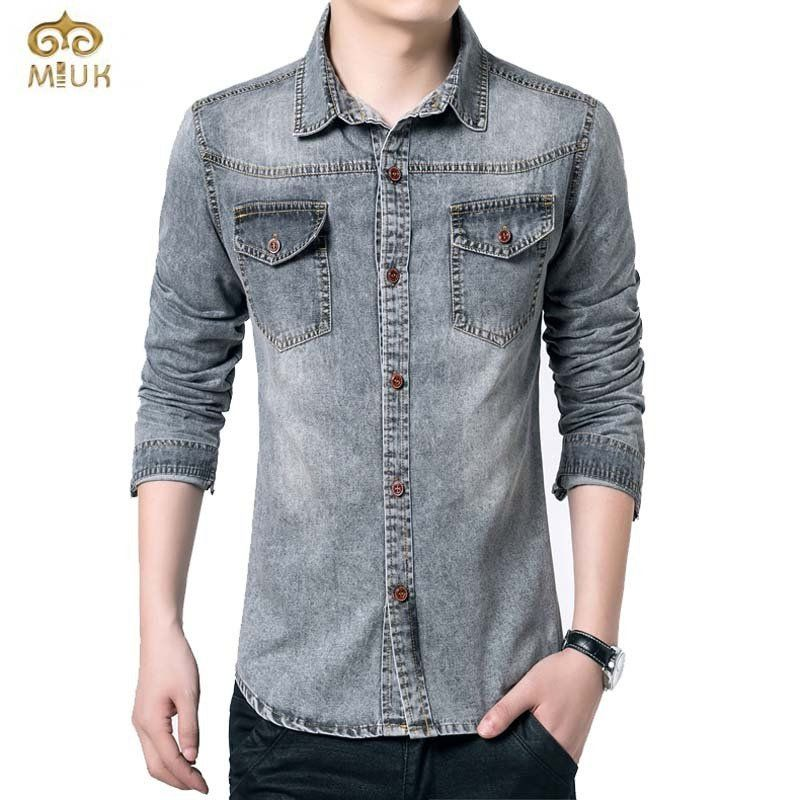 5fc9414755 Trending Men Denim Shirt (M-5XL) - Pulse Designer Fashion