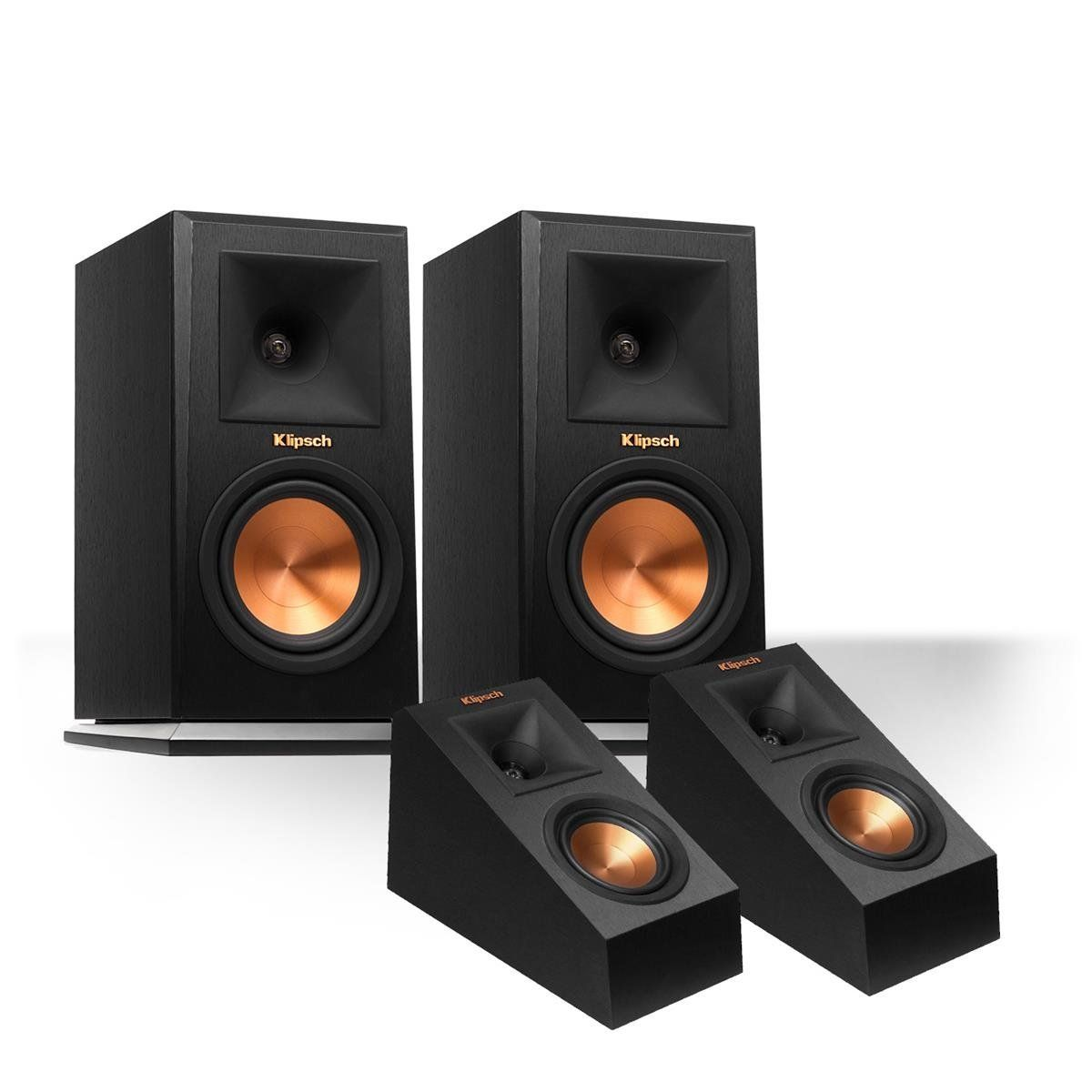 Great Speakers Klipsch Rp 160m Reference Premiere Monitor Promedia 2 1 Wiring Diagram With 140sa Add On Dolby Atmos Enabled Elevation Black Introduce Whats New And Future