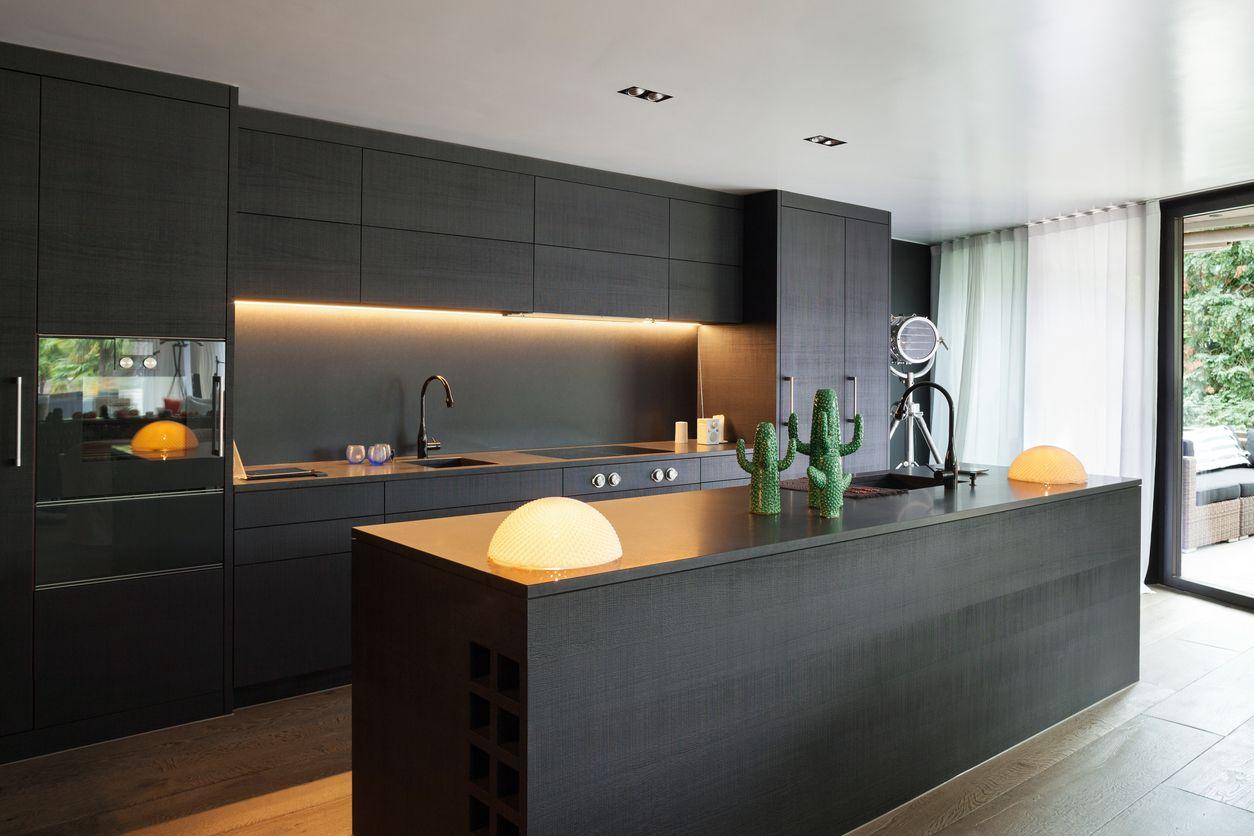 Which Kitchen Cabinet Door Finish One Wall Kitchen Kitchen Designs Layout Contemporary Kitchen