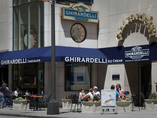 GHIRARDELLI ICE CREAM & CHOCOLATE SHOP Chicago Magnificent Mile Restaurant Reviews s & Phone Number Tripadvisor