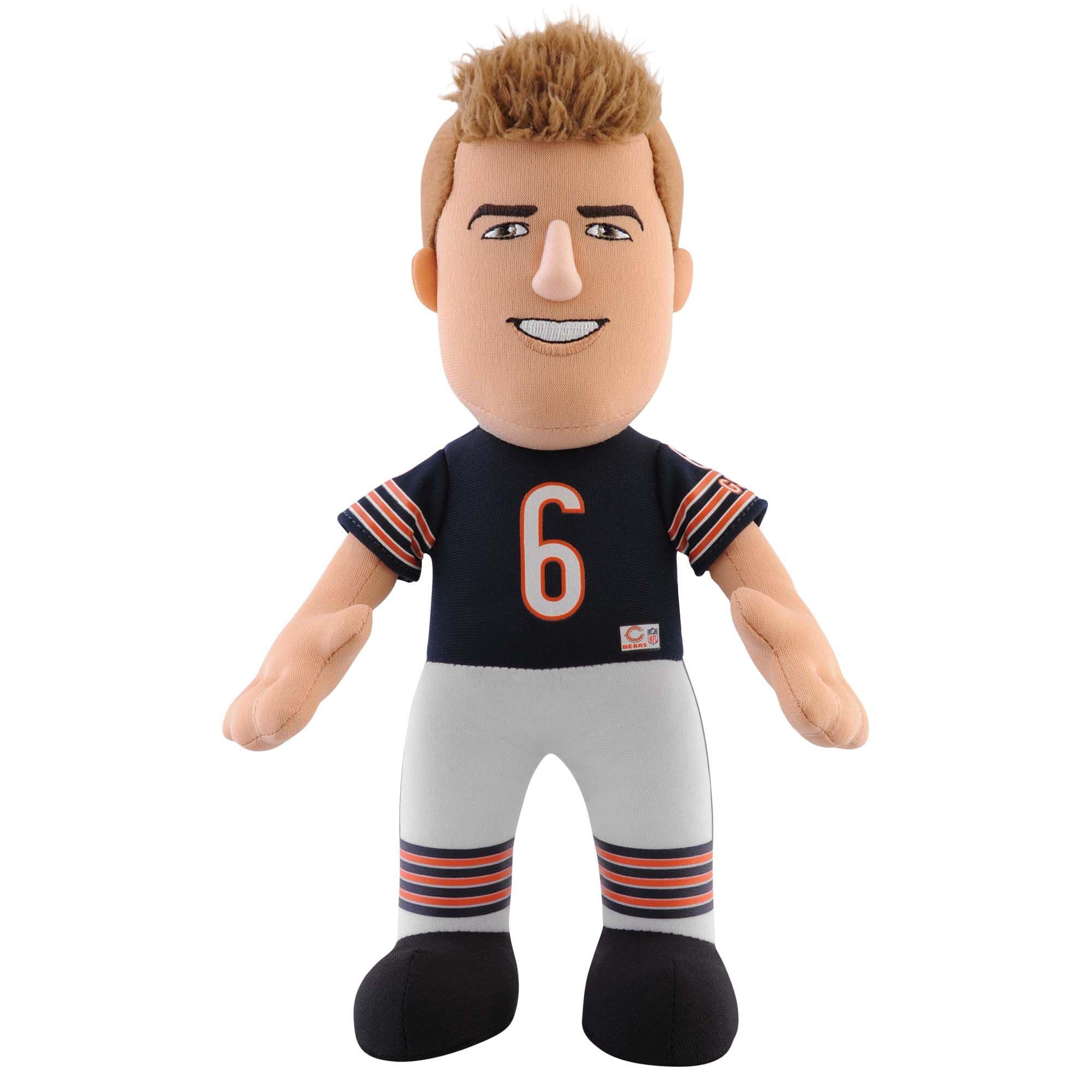 "Chicago Bears Jay Cutler 10"" Plush Figure 19.99 Jay"