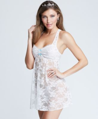 Betsey Johnson Lace Babydoll and G-String