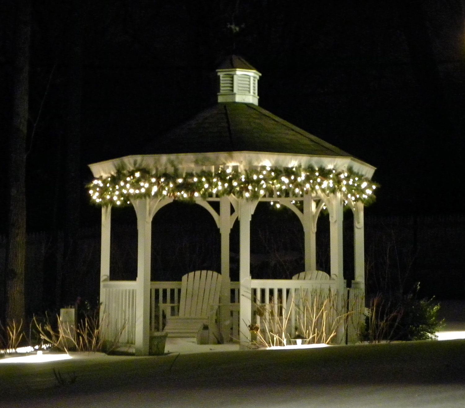 Outdoor Gazebo Lighting Endearing Some Gazebo Lights Ideas  Httpeverythingcrmsomegazebo