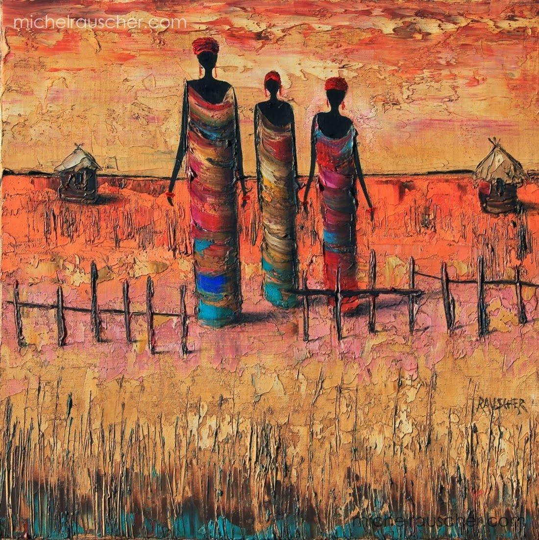 Michel Rauscher, 1957 | Africanos, Arte africana y Patrones de bordado