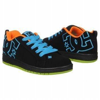 dc court graffik low top shoes lime