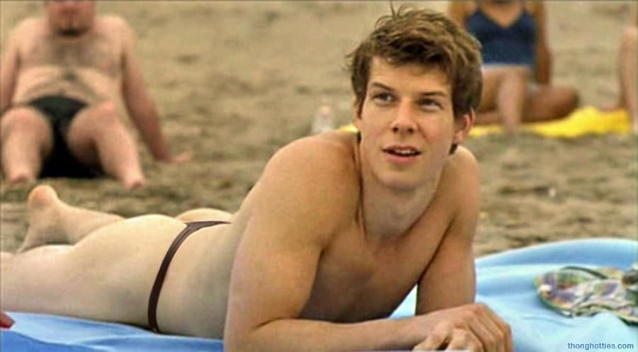Eric Mabius In Thong At The Beach Beach Black