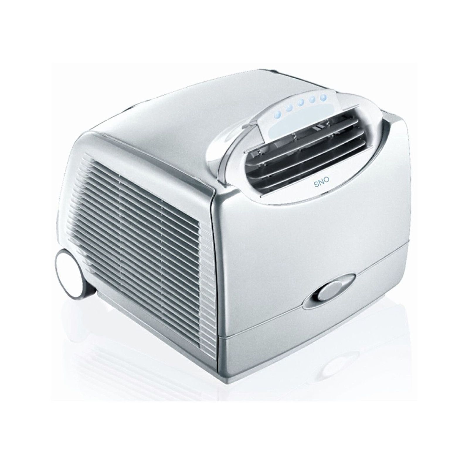whynter sno btu silver portable air conditioner sears