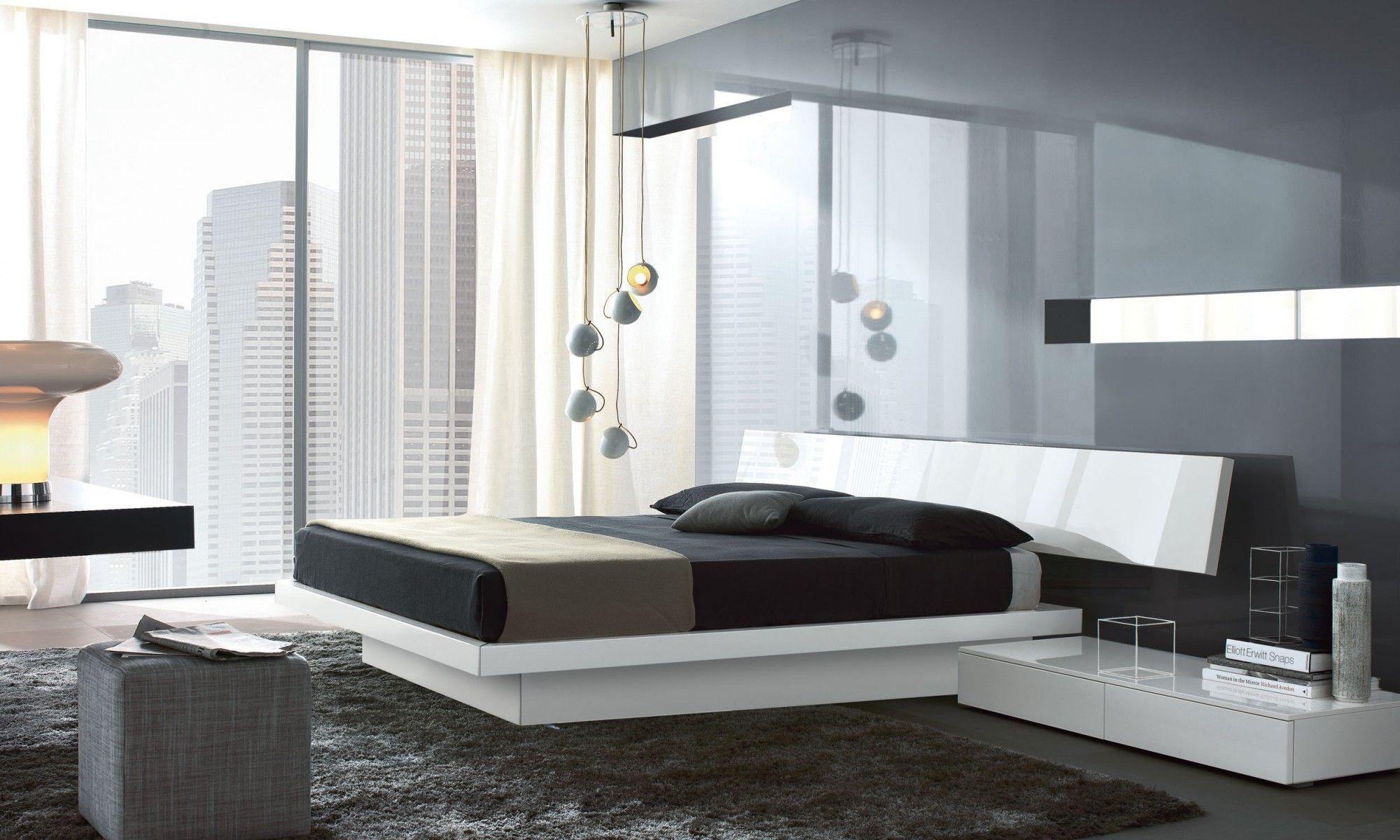 Slim The Fascination Of Asymmetric Design Elegance Created By Balancing Unusual Elements This Is Minimalist Bedroom Decor Minimalist Bedroom Minimalist Bed