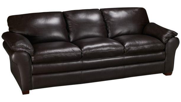 Futura Oslo Leather Sofa Jordan