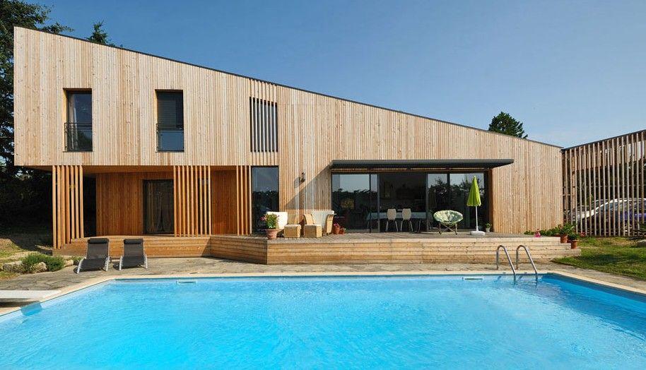 Beautiful Maison Moderne En Bois Bbc Contemporary - Design Trends ...