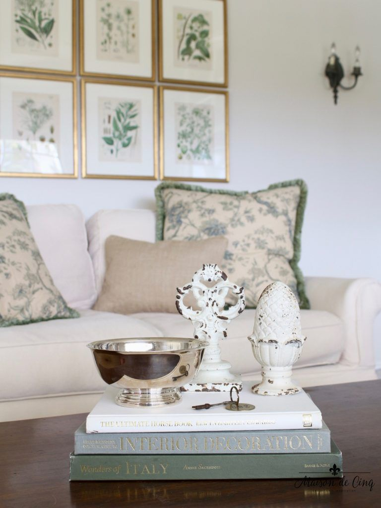 Antique Botanicals And An Update In The Family Room French
