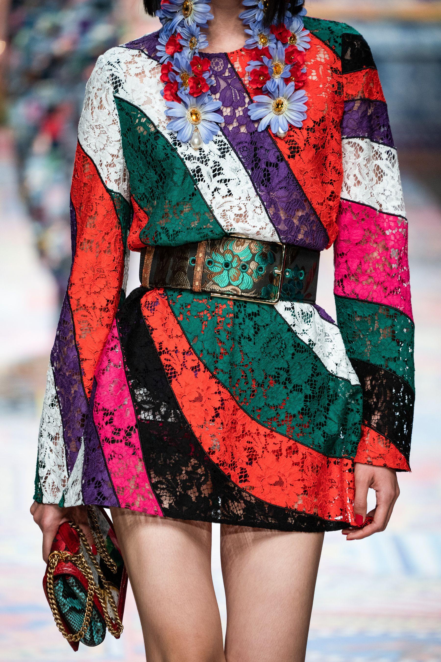 Dolce & Gabbana Spring 6 Fashion Show Details  The Impression