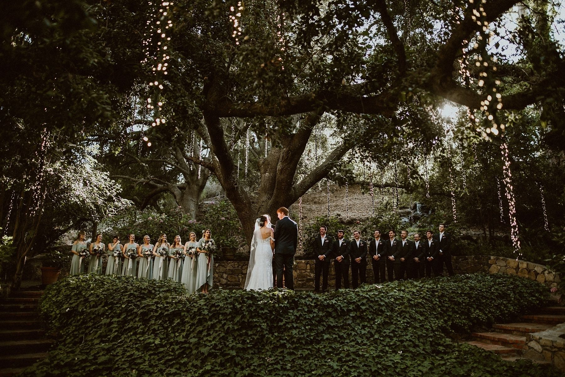 Dresses for 12 year olds for a wedding  Earthy u Intimate Wedding in the Santa Monica Mountains  Oak tree