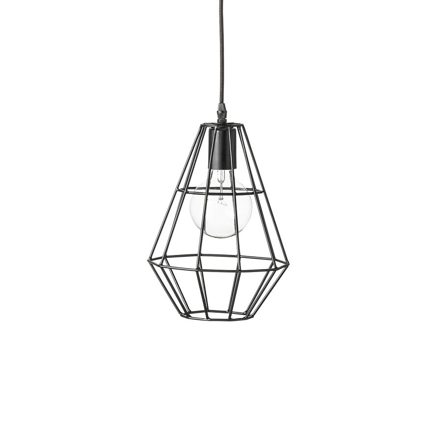 Bloomingville Deckenlampe Pernille Matt Schwarz | Leuchten ...