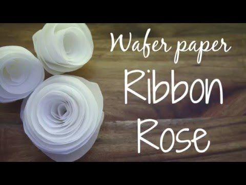 Wafer Paper Ribbon Rose – Cake Warehouse Blog