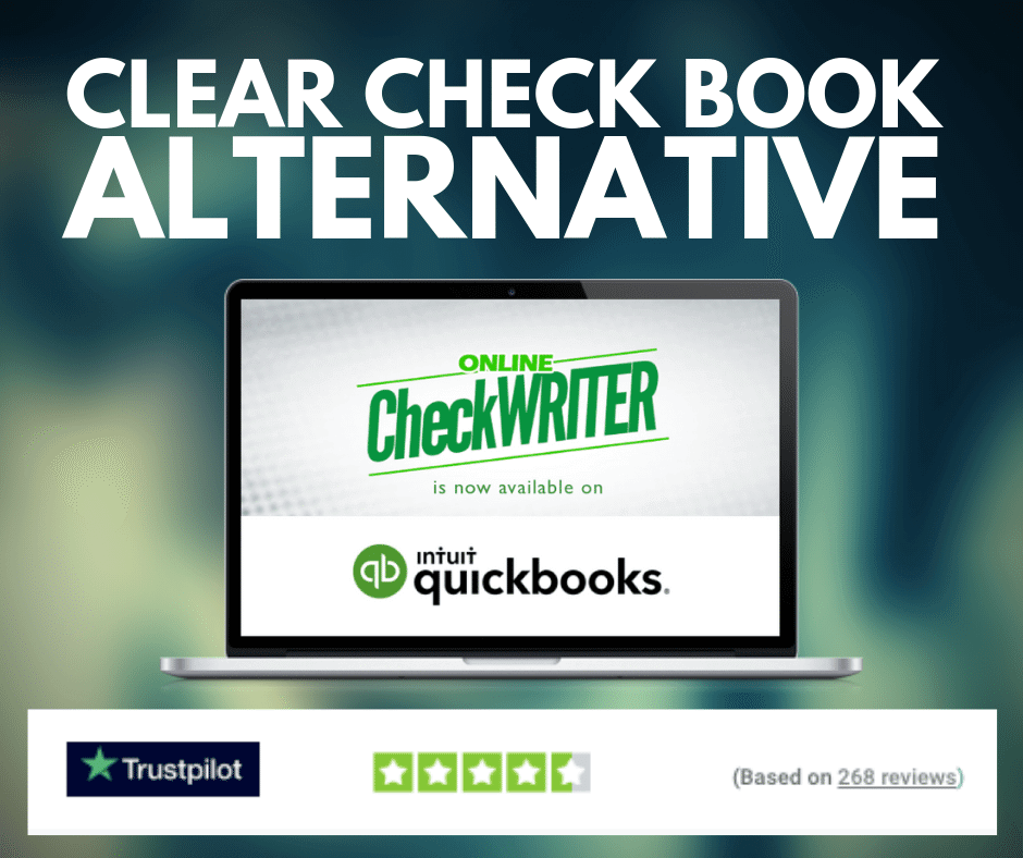 Clear Check Book Alternative Create Checks Print Online On Demand I Think It S Very Good It S Excellent Ser Clear Check Online Checks Writing Software
