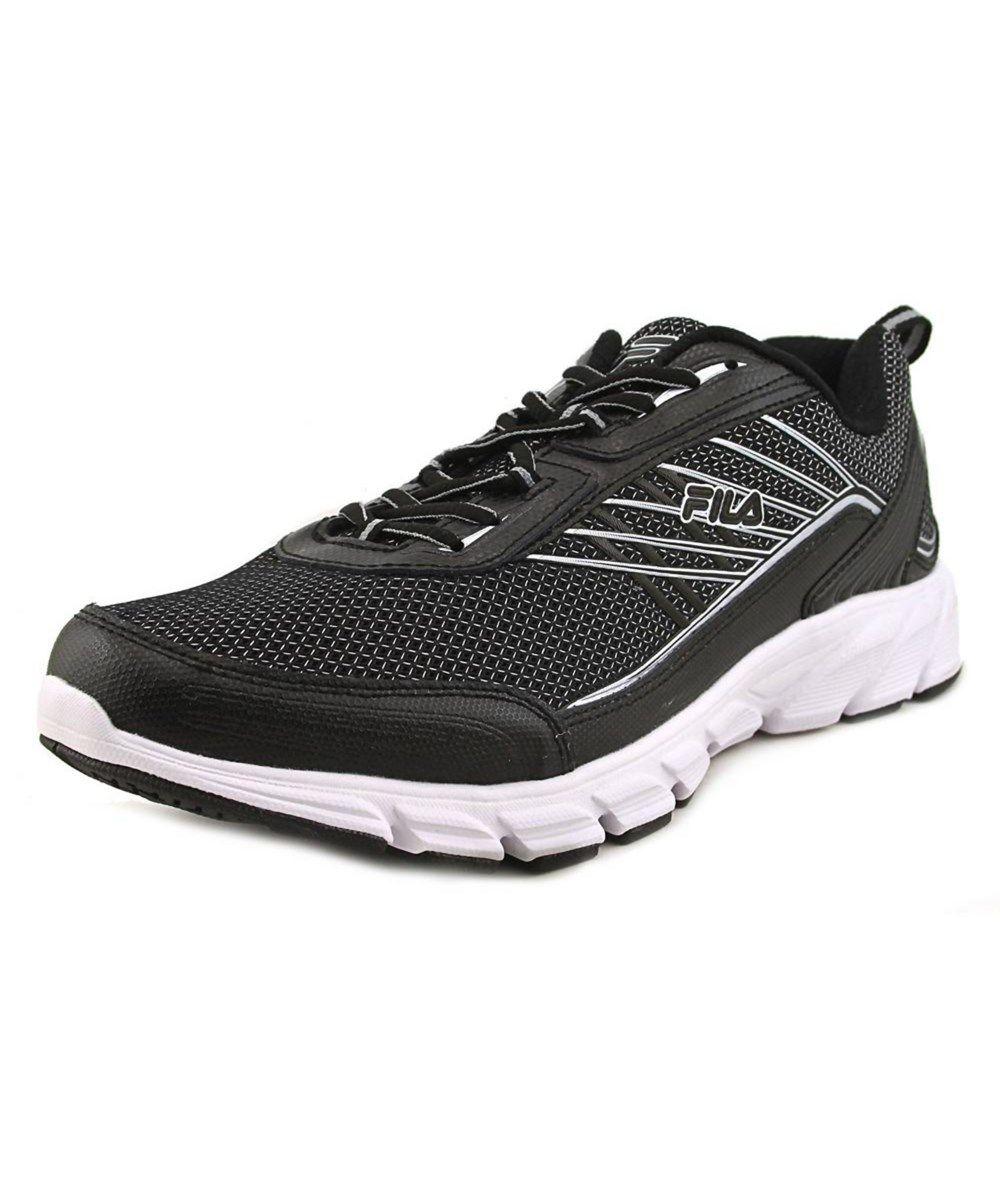 d51d4a454 FILA Fila Fila Forward 3 Men Round Toe Synthetic Black Running Shoe'. #fila  #shoes #sneakers