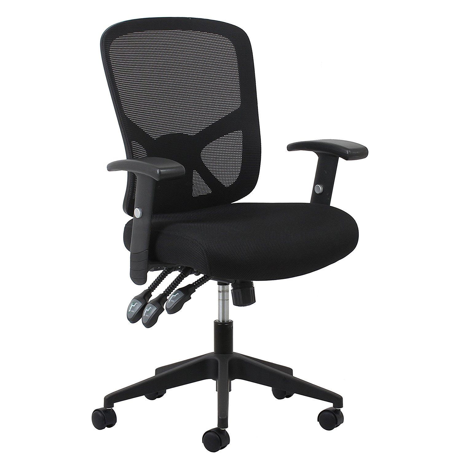 black lumbar mjx mesh visitor cantilever medium chair for ajd v back frame support products guest b vector