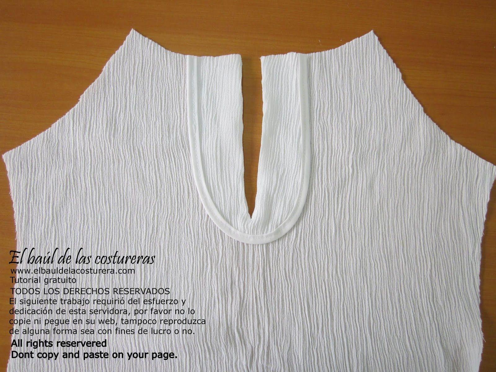 Blusa halter con cuello tipo babero   confección de blusa ...
