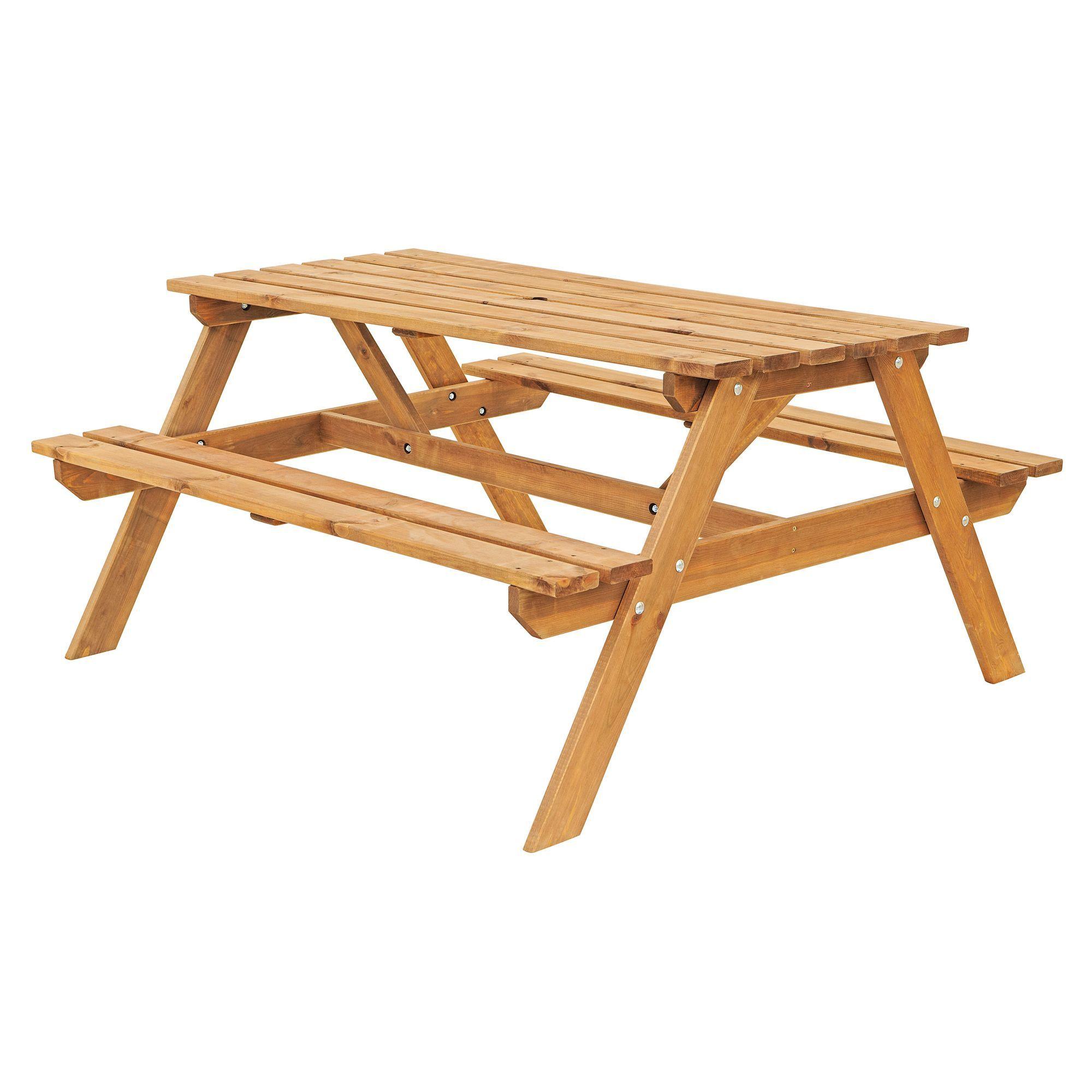 Batam Timber Picnic Bench Top Outdoor Furniture Bu0026amp;q Part 49