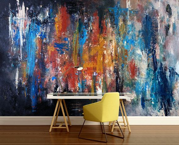 3d Abstract Mural Abstract Wall Mural Color Wall Mural Painting Mural Self Adhesive Vinly Paint Wall Mural Abstract Wallpaper With Images Wall Murals Painted Wall Murals Cool Walls