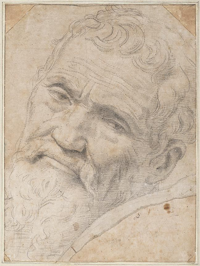 Daniele Da Volterra, Portrait of Michelangelo, 1550–1555. Teylers Museum, Haarlem, the Netherlands.Portrait
