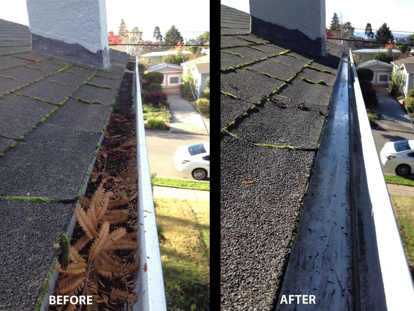 Rain Gutter Cleaning And Repair Services In Alameda By
