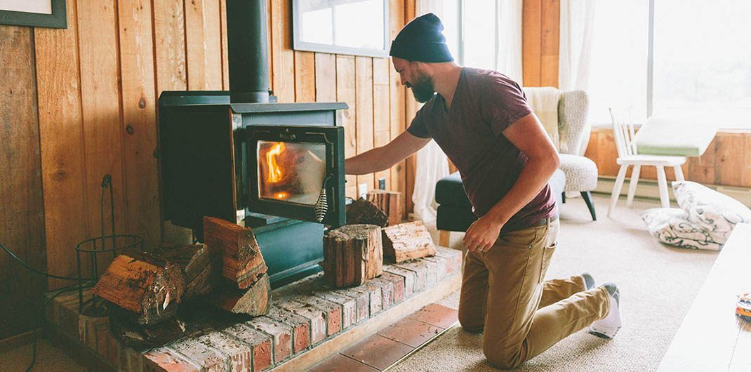 Fireplace maintenance getting ready for winter wood