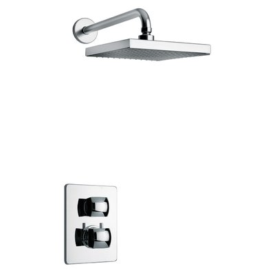 LaToscana Lady Thermostatic Shower Faucet with Valve | Wayfair