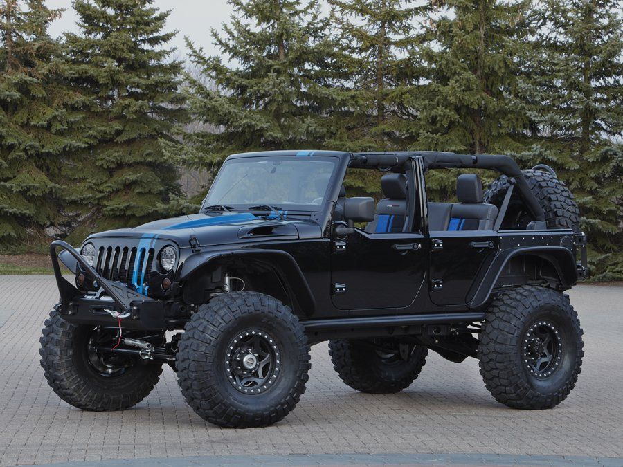 Wrangler Apache Is Rocking Mopar S New Conversion Kit Which Fits A