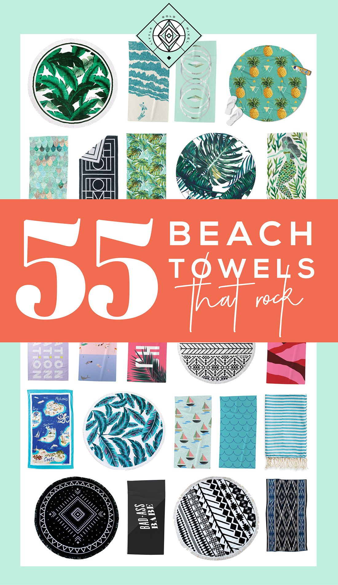 55 Best Beach Towels A Design Roundup With Images Beach