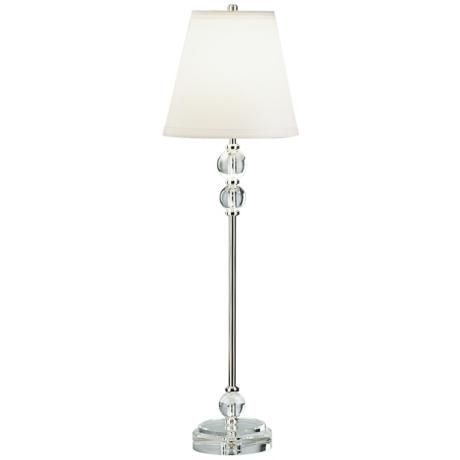 Robert Abbey Muses Collection Lead Crystal Table Lamp 33 High
