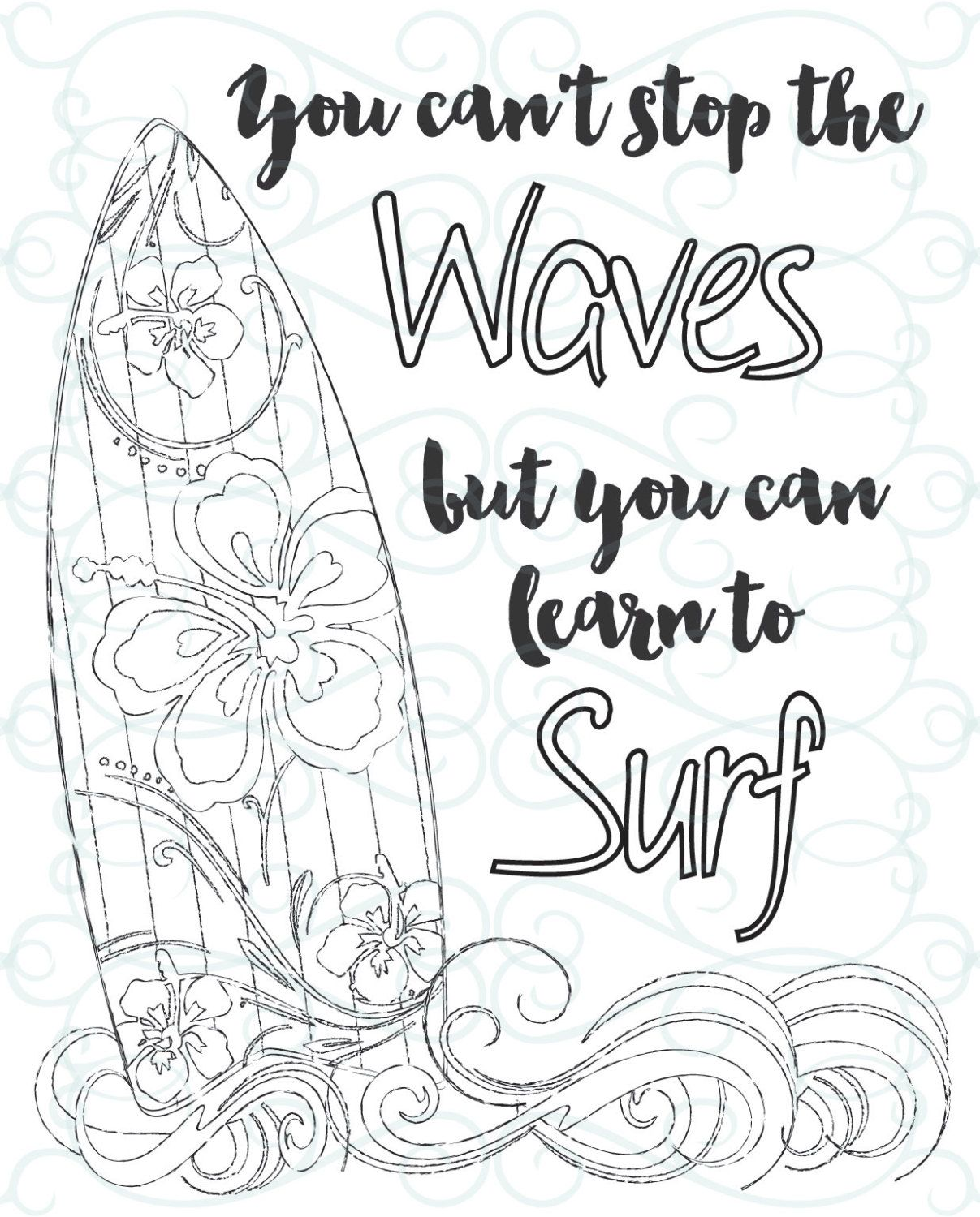Adult Inspirational Coloring Page printable 03Learn to