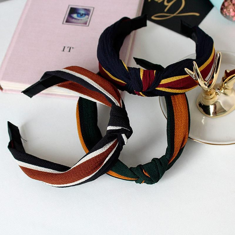 Fashion Women/'s Wide Headband Floral Hairband Knot Hair Hoop Band Accessories
