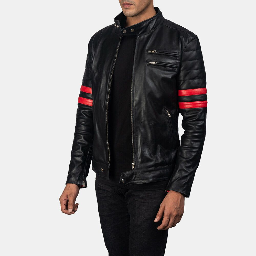 100 New Black Mens Real Leather Jackets Handmade Leather Jackets Nfs250 Zafyleather Biker Real Leather Jacket Leather Jacket Leather Jacket Men [ 1000 x 1000 Pixel ]