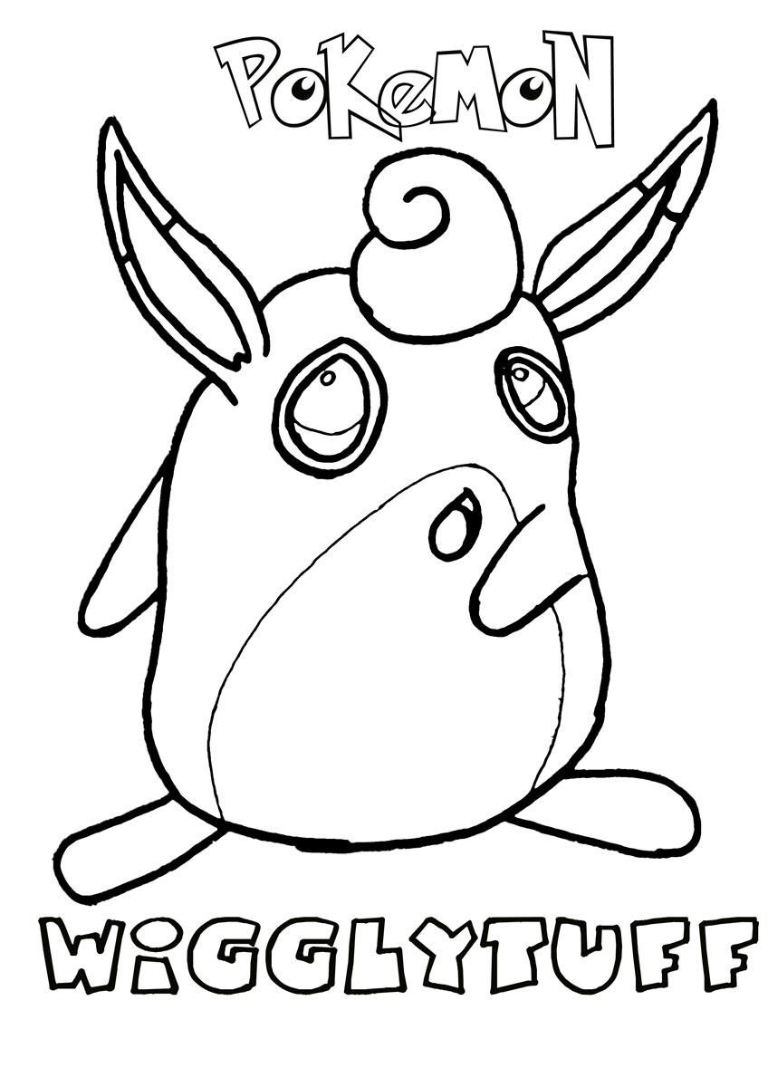 Wigglytuff Pokemon Coloring Page Through The Thousand Images Online About Wigglytuf Superhero Coloring Pages Pokemon Coloring Pages Teddy Bear Coloring Pages
