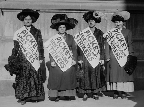 New York Shirtwaist Strike, 1910 | ♛ GIRL ♀ POWER