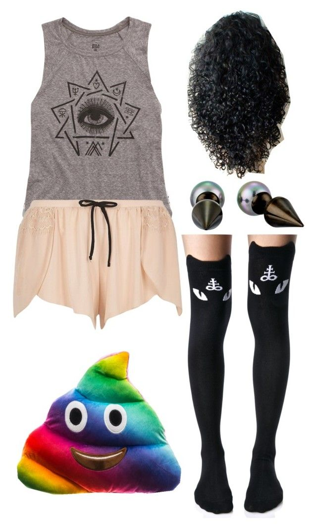 """""""Untitled #729"""" by kaninekiller on Polyvore featuring Moschino, Billabong, Killstar, River Island and Majorica"""