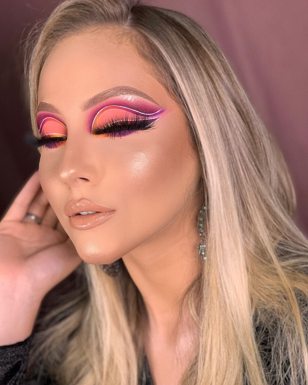 Pin de Debora Lunardi em Makeup Goals   Maquiagem colorida