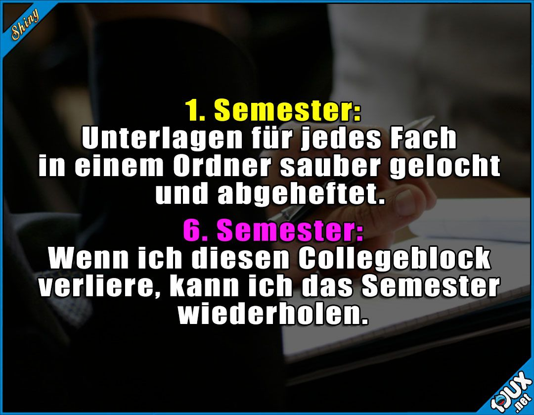 Studium kurz erklärt #Studentenleben #Studentlife #Studium ...