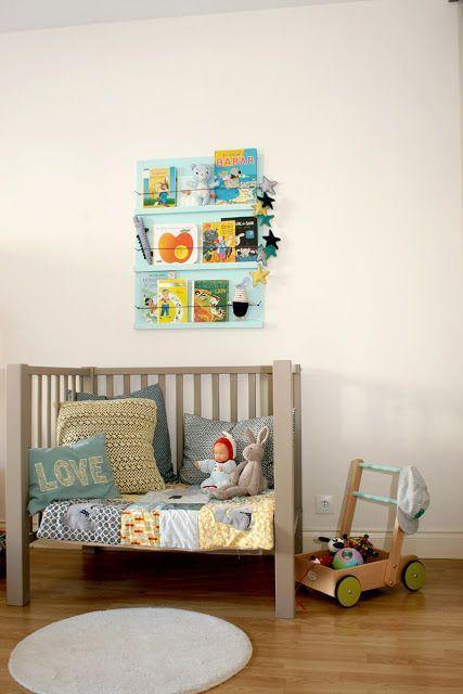 mommo design: reading nooks leeshoek boekenplank kinderkamer, Deco ideeën