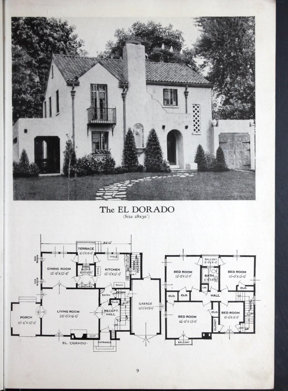 Homes of brick and stucco. | Spanish mission revival | Pinterest ...