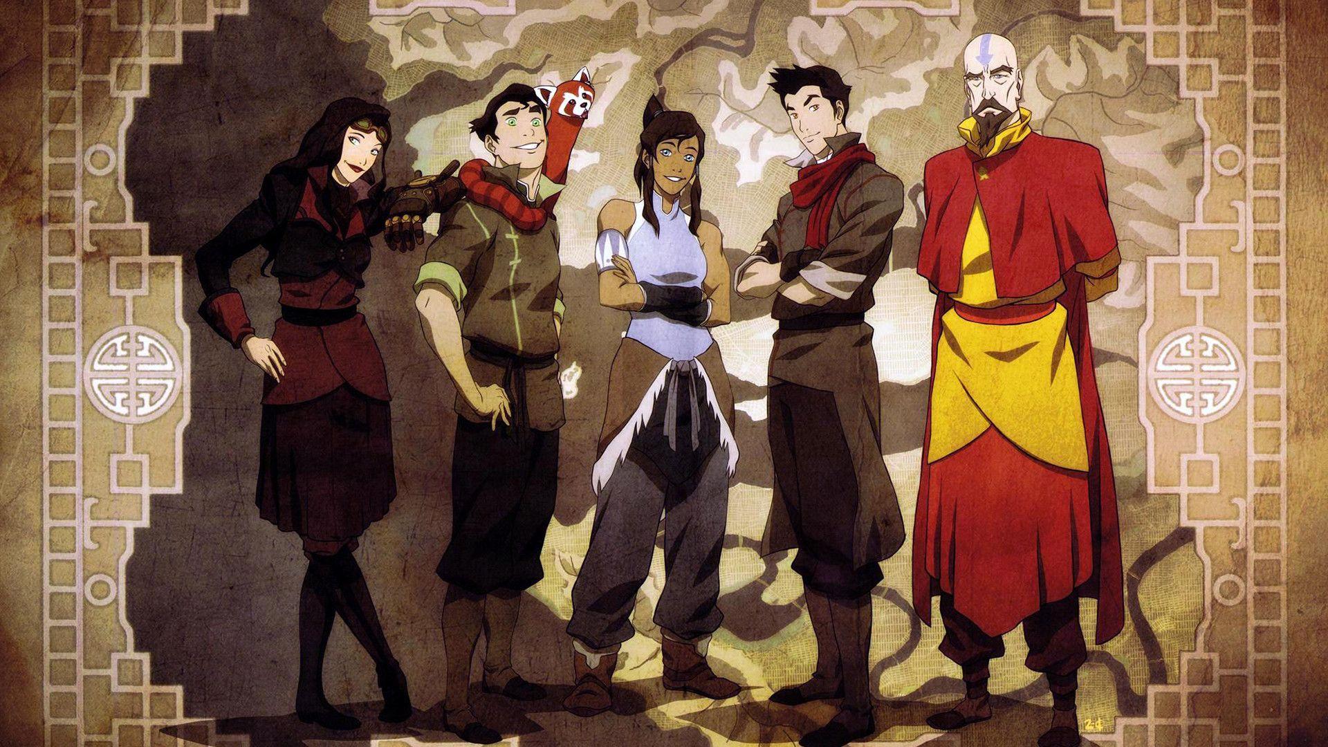 Anime Avatar The Legend Of Korra Wallpaper Avatar The Last