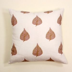 floating fronds pillow
