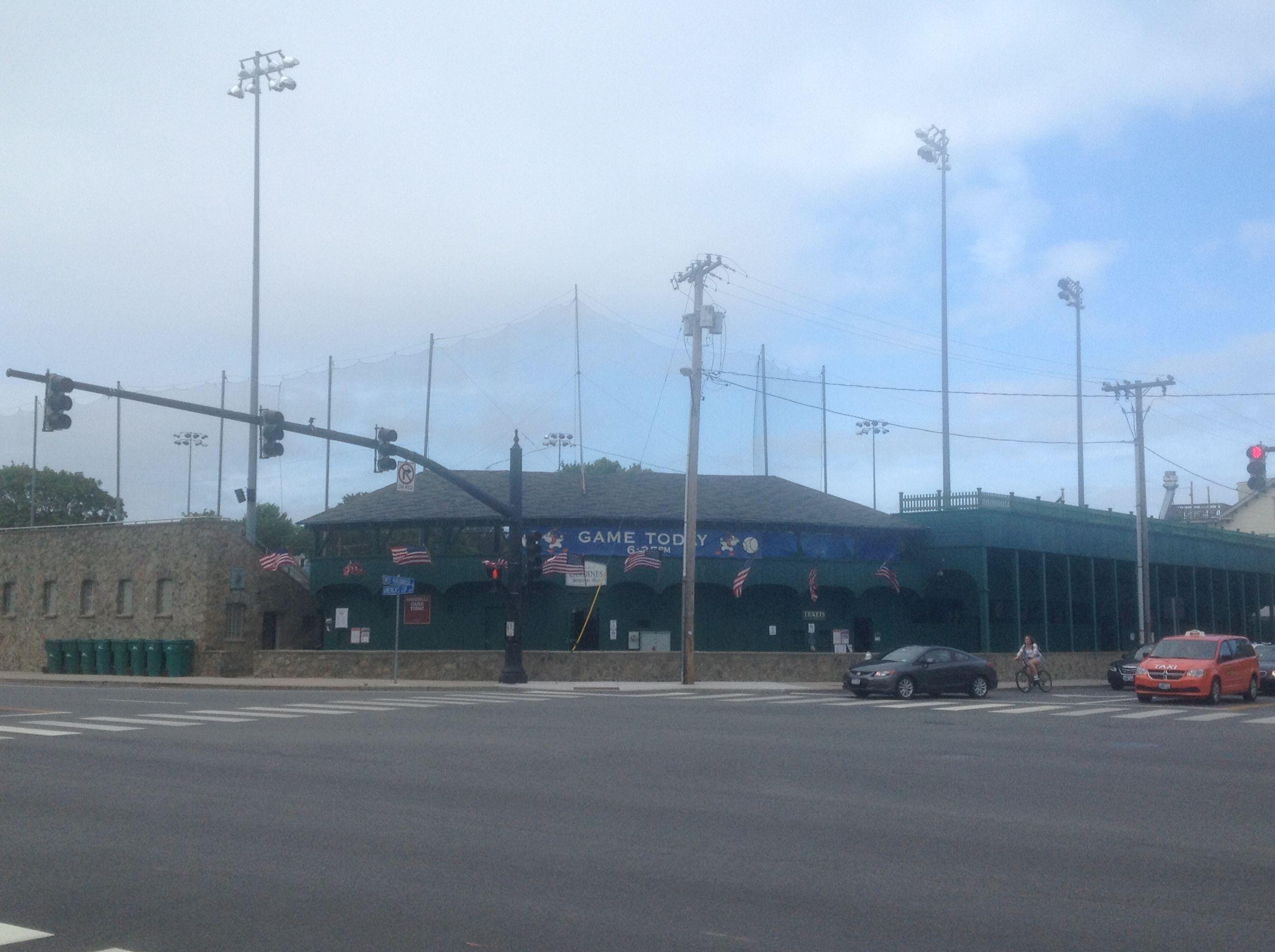 Cardines Field Newport Gulls Of The New England Collegiate Baseball League Newport Ri Baseball League Baseball Stadium Newport